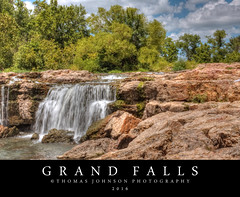 Grand Falls (Thomas  Johnson Photography) Tags: missouri outside outdoors canon digital 40d scenic beautiful water flowing waterfall 2016thomasjohnsonphotography thomasjohnsonphotography largestcontinuallyflowingmissouriwaterfall joplin grandfalls grand falls amazing rock rocks fall