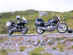 The bikes at road 337. (topzdk) Tags: norway mc motorcycle honda bmw 2016 summer austagder vestagder nature
