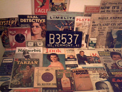 1950's : (Retro King) Tags: 1957 retro magazines 1958 records vinyl albums 1959 singles 1956 newspapers comicbooks 1950s comics hmv vintage