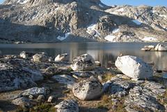 Rock garden, Lake Muriel (Jeff Goddard 32) Tags: highsierra sierranevadamountains california inyocounty muriellake alpine northlakebackcountry humphreysbasin