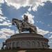 A maior estátua equestre do mundo...