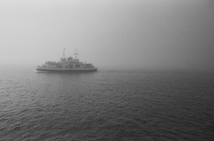 while (Ilona Fogelson) Tags: photo film finland analog analogphotography sea blackandwhite bw baltic balticsea ship canon canonef24105 canon24105 canoneos300 canonrebel2000 negative agfa agfaapx400 35mm suomenlinna suomi summer canonfilm