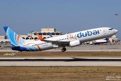Fly Dubai --- Boeing 737-800 --- A6-FDC (Drinu C) Tags: adrianciliaphotography sony dsc hx100v mla lmml plane aircraft aviation flydubai boeing 737800 a6fdc 737