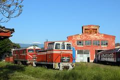 Narrow Gauge Depot Septemvri (Krali Mirko) Tags: bdz locomotive depot diesel kambarka 81002 81 002 railway septemvri bulgaria