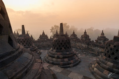 Borobudur Temple (Robert-Jan van der Vorm) Tags: indonesia yogjakarta borobudur temple sunrise mahayana buddhist magelang central java