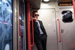 (yedman) Tags: milan italy milano subway train street candid style yedman europe