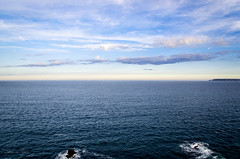 Dbut de journe sur la baie de Douarnenez (Yann du Maner - Photographie) Tags: paysage capsizun bretagne brittany france finistere flickr bleu blue seascape sky sea ocean nikon d7000