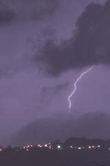 Lightning (Mark V.I) Tags: nikon nikkor 55300 lightning lighting bolt lightningbolt thunder relampagos rayos centellas clouds nubes storm tormenta electricidad electricity lluvia rain city nature naturaleza