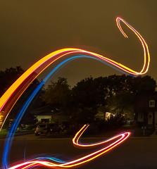 Strange Magic (Michael Scott Schneider) Tags: night flight nite lightes led painting long exposure journey elo airborne flitetest