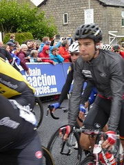 In comes the peloton, nearly quarter of an hour down (Steelywwfc) Tags: 2016 tour britain kendal jens debusschere lotto soudal maximiliano richeze etixx quick step