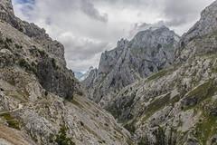 Picos de Europa (Danieldevad) Tags: landscape mountain hiking nature path sky clouds creative artistic creativo artistico paisaje montaa camino naturaleza cielo nubes