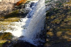 Eresma (Segovia) (alfonsocarlospalencia) Tags: cascada eresma segovia agua reflejos colores musgo transparencias blanco luz dibujos cortina fuerza piedras espuma detalle