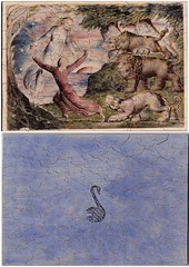 William Blake Illustration for Dante's Inferno puzzle (Swan Sawyer Puzzles Cygne la Scieuse) Tags: jigsaw puzzles plywood handmade wmblake romantic dante inferno illustration