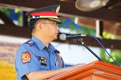 043012-Flag Raising Ceremonies & Awarding Ceremonies of PNP Batangas Provincial Command @ Camp Miguel Malvar, Batangas City (Benny M. Abante) Tags: flag batangas philippineflag pnp abante paradereview philippinenationalpolice flagceremonies awardingceremonies philippinenationalanthem bennyabante pnpbatangasprovincialcommand campmiguelmalvar troopingtheline