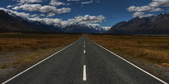 The Road to Mount Cook (1982Chris911 (Thank you 1.250.000 Times)) Tags: newzealand canon eos 7d southisland mountcook aoraki eos7d canoneos7d canon7d edmondhillary