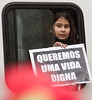 We want a life of minimum Dignity! (andreroseta) Tags: people portugal canon lisbon demonstration 25 7d april 2012 ilustrarportugal