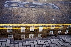 Samuel House (johanna) Tags: rain pavement hackney
