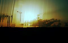 Sunset fragmented . (ADIDA FALLEN ANGEL) Tags: art broken manipulated outside israel telaviv nikon artistic shattered mixture d40
