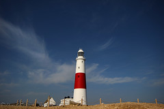 The old Bill... (Chrisconphoto) Tags: sea lighthouse minimal dorset portlandbill