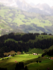 Swiss tilt-shift (Cameron Moll) Tags: photoshop switzerland tiltshift