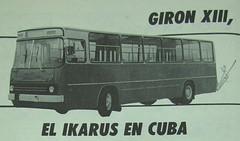 Giron-XIII---Ikarus (Adrian (Guaguas de Cuba)) Tags: bus volvo gm havana cuba habana hino omnibus guagua giron oldbus ikarus americanbus japanbus omnibusnacionales