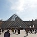 Pyramide at the Louvre