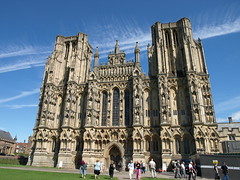 Wells Cathedral (barnyz) Tags: city uk england cathedral gothic wells somerset medieval mendip