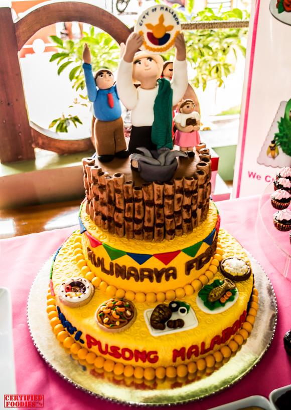 Malabon Kulinarya Festival 2012 cake by Simon's