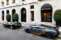 Lamborghini Murcielago SV 010/350 (Valkarth) Tags: auto orange look car logo grey gris grigio super voiture coche lp lamborghini supercar sv murcielago lambo veloce murcie telesto superveloce 670hp lp6504 lp650 lp6704 lp670 670ch 670cv