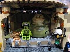 9516 jabba's palace (super zanic 10) Tags: star lego jabba wars oola hutt 9516