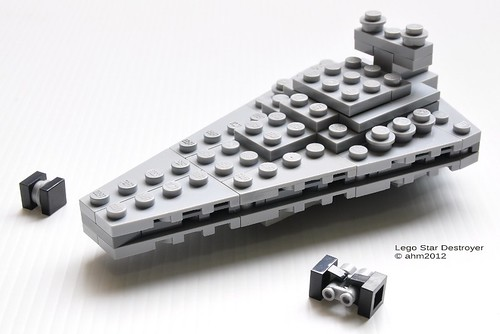 Star wars lego imperial star destroyer by katanaz