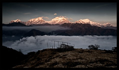 sunset from sundar kharka (doug k of sky) Tags: nepal trek doug hill central around himalaya marsyangdi sundar himal lamjung chuli manaslu kharka mountainscapes ngadi karka kofsky