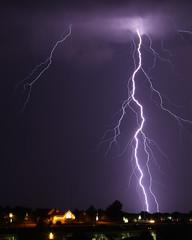 Frontal Passage (dfndr13) Tags: morning usa storm rain weather june 11 mo kansascity thunderstorm lightning hotelwindow monday thunder 2012 overnight wx embassysuites frontalpassage