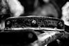Fordson Model F Tractor - Nikon FM - Nikkor-SC 55mm F/1.2 - Efke 25 (divewizard) Tags: california old blackandwhite bw white tractor black detail slr blancoynegro film blanco analog 35mm blackwhite analógica nikon rust noir noiretblanc bokeh decay negro rusty 55mm 25 rusting fm blanc dilapidated f12 fordson wideopen shallowdof película efke mendocinocounty nikonfm efke25 rearwheel modelf schwarzundweiss fordsontractor blackwhitephotos oldstageroad y44 nikkorsc ncps chrisgrossman 55mmf12sc northcoastphotographicservices nikkorsc55mmf12 nikkors·c nikkors·c55mmf12 iversenroad