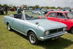 1967 Ford Cortina 1500 Convertible Mk2 (Trigger's Retro Road Tests!) Tags: show classic ford cortina car convertible retro 1967 vehicle mk2 essex 1500 2012 lawford revival manningtree