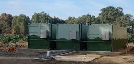 planta tratamiento de agua portable