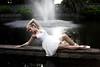 Elegance (Danielle Pearce) Tags: ballet white black water girl waterfall dance swan ballerina pointe