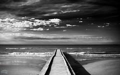 Jesolo (BeniaminoGelain) Tags: morning sea bw black beach clouds contrast waves ben cittadella 2012 padova whiter 730 gelain beniamino beniaminogelain beniaminogleaincom beniaminogelaincom