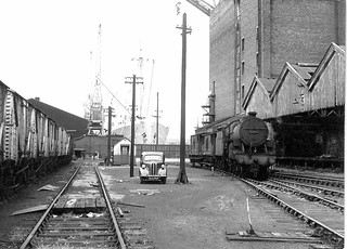 Bankfield Goods, Liverpool docks UK 1963