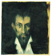 [ P ] Pablo Picasso - Portrait of an Unknown Man (in the Style of El Greco) (1899)