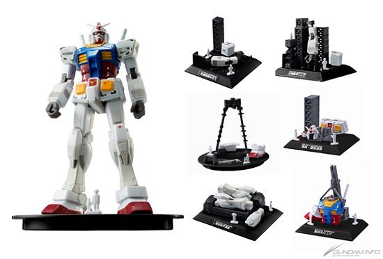 Gundam Front Tokyo展覽館限定食玩