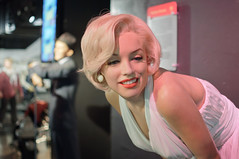 Marilyn Monroe at Madame Tussaud's New York (InSapphoWeTrust) Tags: newyork manhattan marilynmonroe 2012 madametussauds franksinatra normajeanbaker