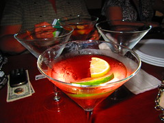 Cosmos yummy =) (Spike's Honey) Tags: street bar pie md pub cross hill maryland social baltimore drinks 25 e federal cosmos limes