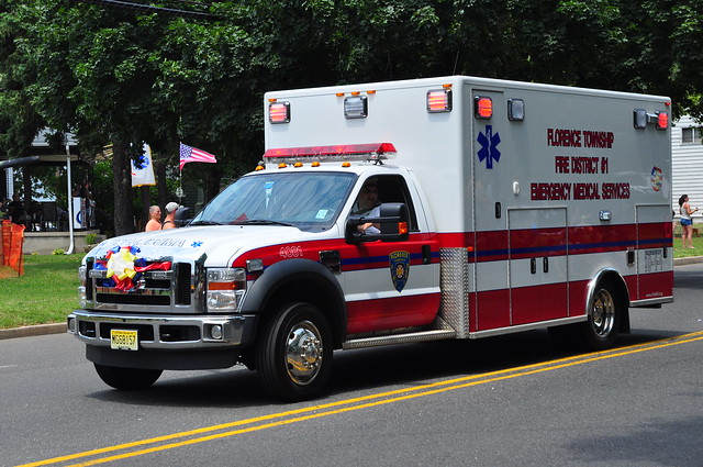 ford newjersey nj ambulance firetruck fireengine ems burlingtoncounty fseries ftfd plcustom florencetownship florencetownshipfiredepartment ambulance4081