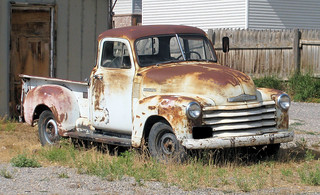 Rusty Old Chevy
