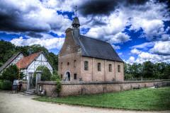 The Village Church, Bokrijk (jordi1880) Tags: church photoshop high dynamic belgium belgique pentax farm hasselt belgi range belgica kerk hdr limburg k5 boerderij bokrijk photomatix lighroom