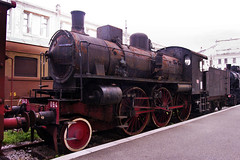FS 640.064 2-6-0 in Trieste Railway Museum on 2 June 2012 (A Scotson) Tags: italy trains steam railways locomotives fs 260 italianrailways triesterailwaymuseum class640 ilmuseoferroviarioditrieste