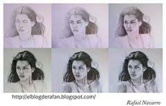 proceso chica sentada (rafanav) Tags: art pencil drawing navarro process rada