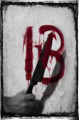 195/366 (Ashley Lowry) Tags: friday thirteenth nightmare horror grim dark murder murderous blood red tr