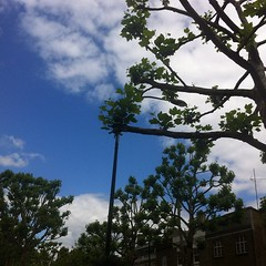 Blue sky and lovely weather in #NottingHill #London #UK #nofilter